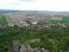 Pohled na obec Klapý z Házmburku