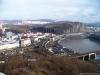 Pohled z Větruše na Ústí nad Labem